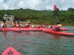 獨木舟訓練